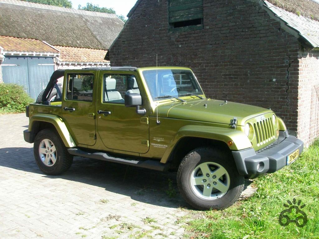 Voertuigen Jeep Wrangler Unlimited Jk Car Casting Holland Film Afbeelding Van