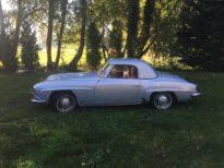 Afbeelding van Mercedes 190sl