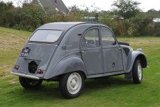 Afbeelding van Citroën 2cv Sahara 4x4
